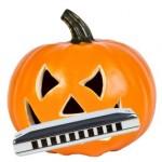 Pumpkin Head Harp i