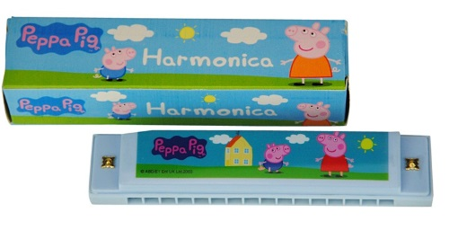 Peppa Pig Blue Harp and Box